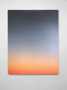 painting of the artist Cyrielle Gulacsy Visible Light